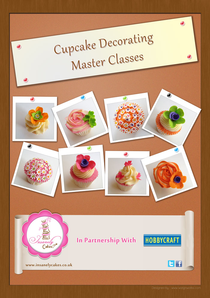 Cupcake & Cakes Classes Insanely Cakes Kent United ...
